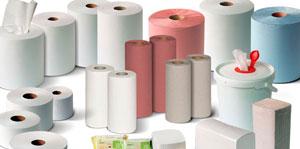 Sanitary material paper towel